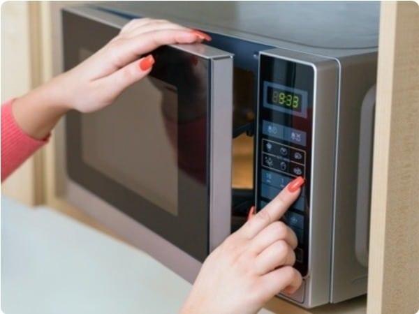 como usar microondas sin grill
