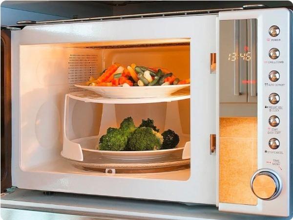 ventajas microondas grill