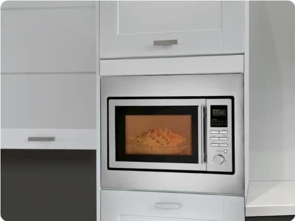 mejores-microondas integrables acero inoxidable