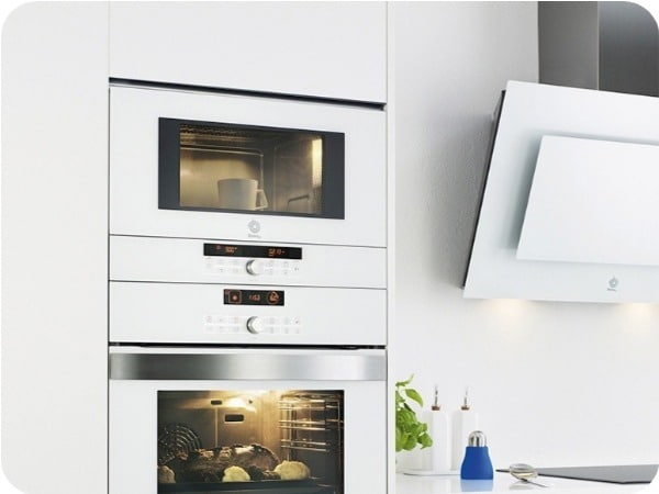 mejores microondas integrables blancos